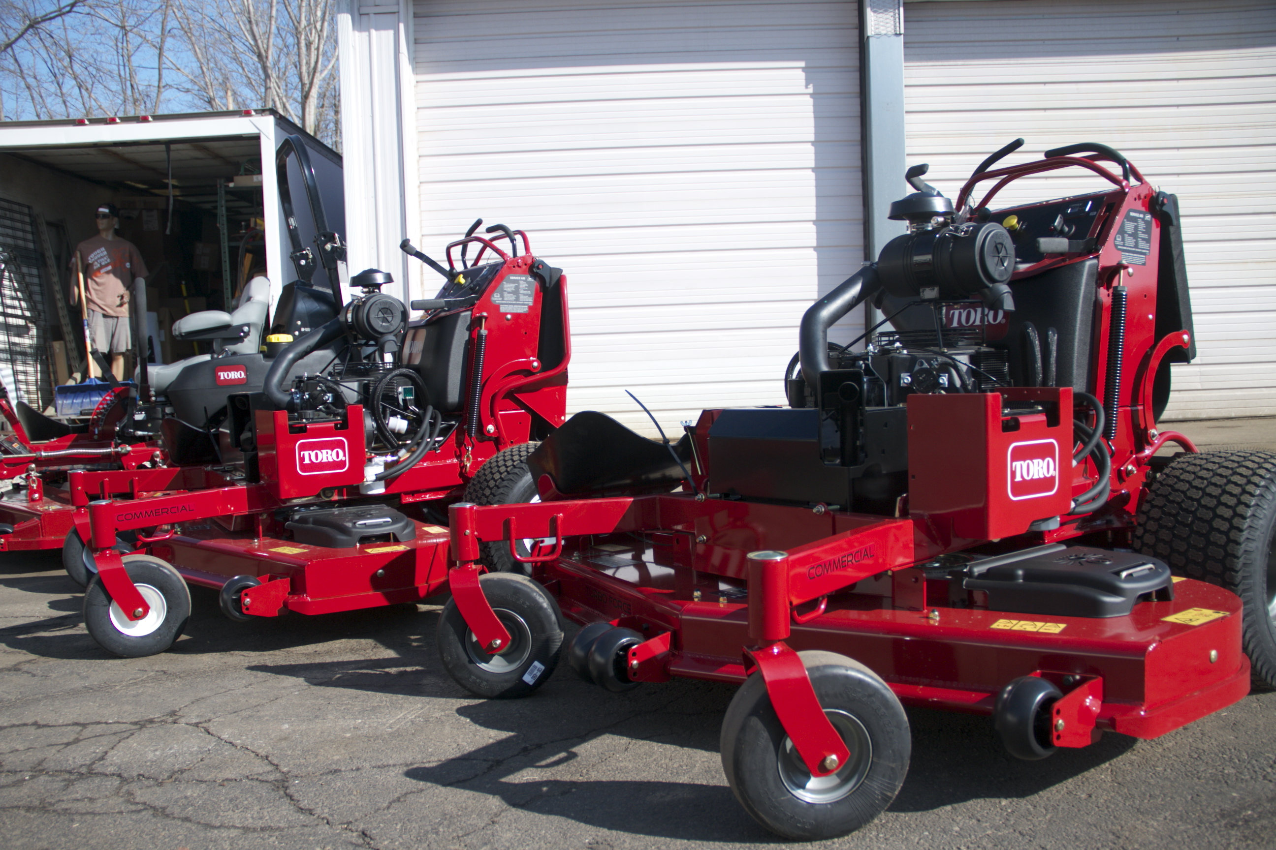 Toro Stand on Mowers